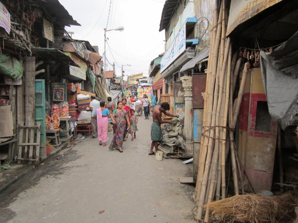 typical kumartuli street/alley